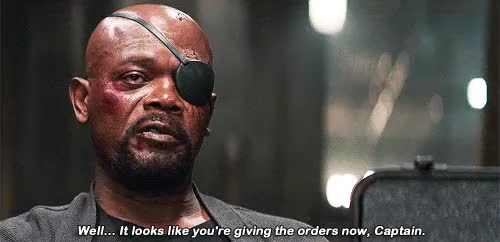 Watch this nick fury GIF on Gfycat. Discover more *, by tsveti, capedit, captain america: the winter soldier, catwsedit, gifs, marveledit, nick fury, samuel l jackson, steve rogers, tws*, yikes this is awful i'm sorry GIFs on Gfycat