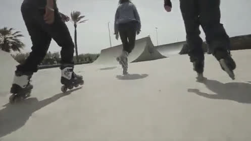 Badass Rollerblading GIFs