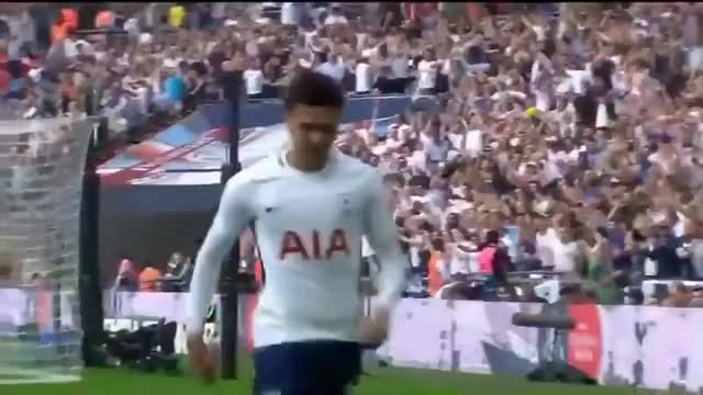 Dele Alli Goal & Fortnite Celebration (Man Utd vs Tottenham)