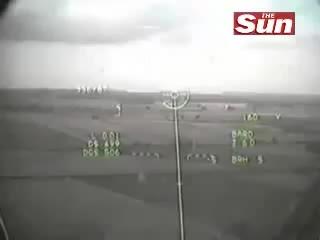 WarplaneGfys, warplanegfys, RAF Tornado & Tuccano near miss (reddit) GIFs