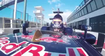 Watch and share Scuderia Toro Rosso GIFs and Carlos Sainz Jr GIFs on Gfycat