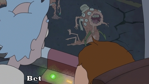 rickandmorty, BlushingSoggyIndigobunting BlushingSoggyIndigobunting BlushingSoggyIndigobunting,Rick and morty yes MRW the generally terrible people on reddit were right that Rick and Morty is a hilarious show (reddit) GIFs