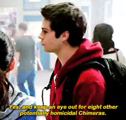Watch and share Stile Stilinski GIFs and Kira Yukimura GIFs on Gfycat