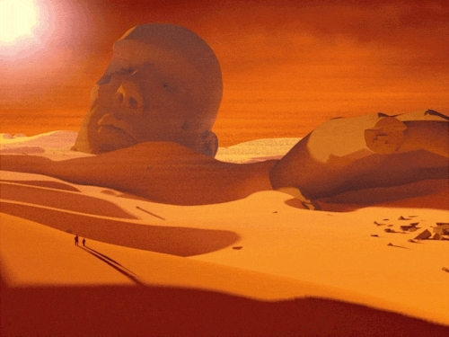 imaginary, landscape, sci fi, sci-fi, science fiction, boundless and bare GIFs