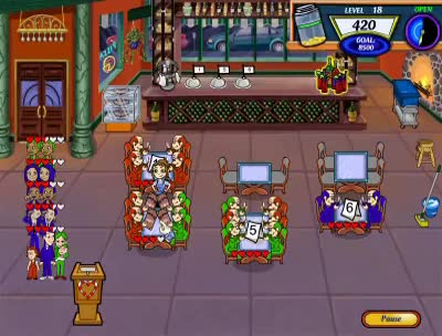 Watch and share Diner Dash 2 - Level 18 GIFs on Gfycat