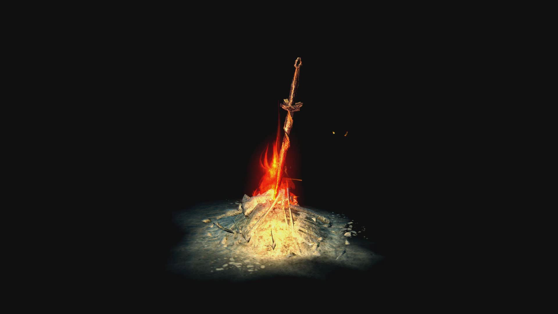 Hd Dreamscene Bonfire Loop Unkindled Gif Gfycat