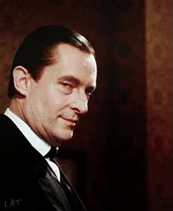 Watch and share Sherlock Can See You, And John Is Laughing. Jeremy Brett. GIFs on Gfycat