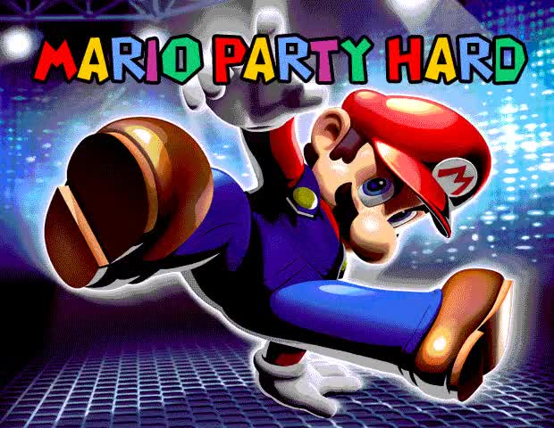 Watch Mario Party Hard   Party Hard GIF on Gfycat. Discover more related GIFs on Gfycat