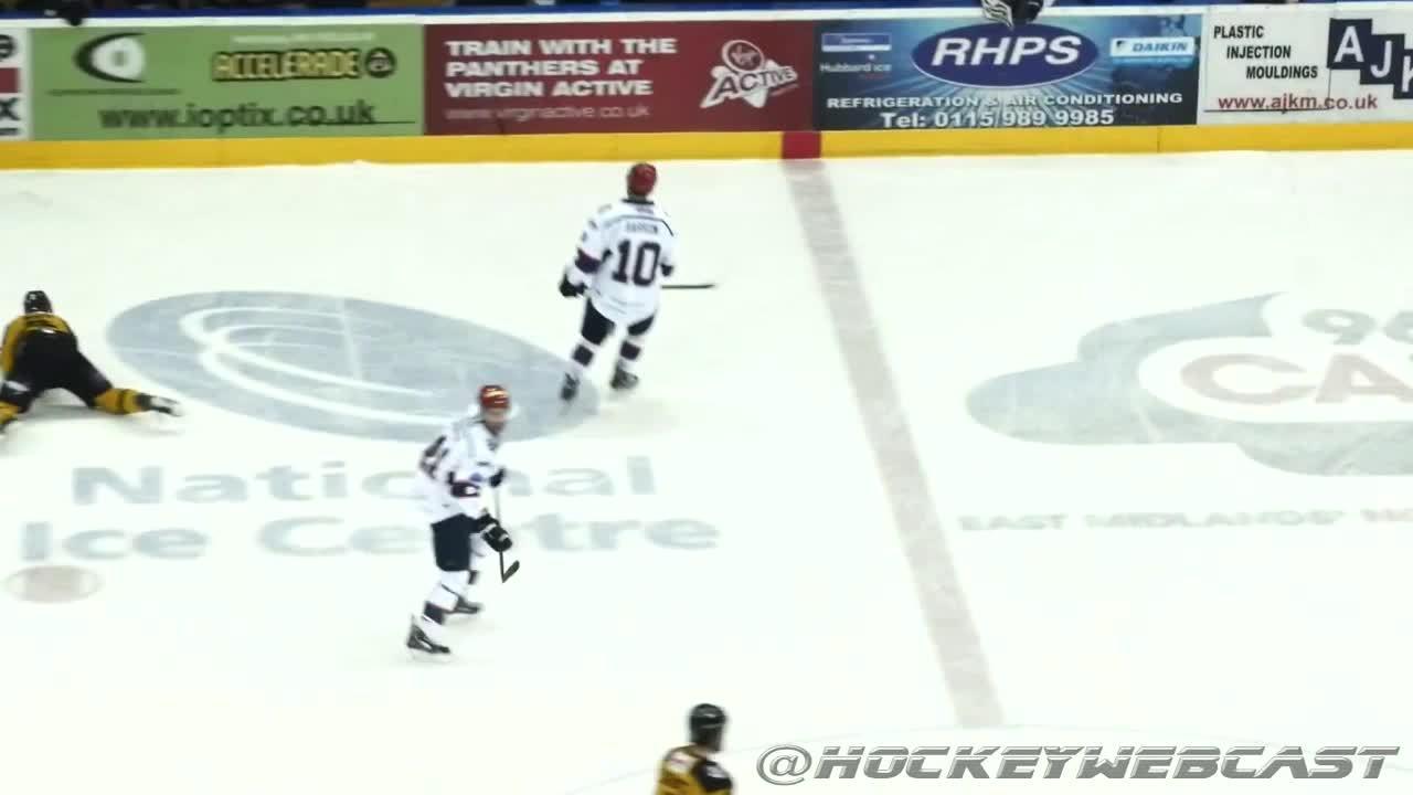 hockey, nhlhut, Hockey player spears, throws helmet at opponent's face in the EIHL (H/T @HockeyWebCast) (reddit) GIFs