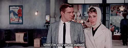 Watch Dessin Noir GIF on Gfycat. Discover more audrey hepburn, breakfast at tiffany's, george peppard, gif, mine, movie, old hollywood, vintage GIFs on Gfycat