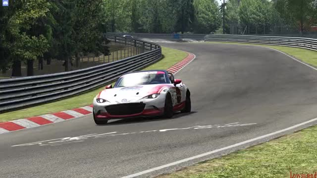 Watch and share Assetto Corsa GIFs and Mazda Mx5 GIFs by L  O W sound on Gfycat