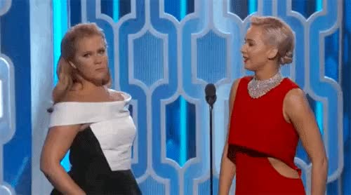 Watch and share Jennifer Lawrence GIFs and Amy Schumer GIFs on Gfycat