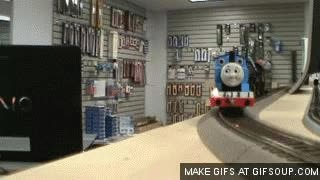 Watch and share Thomas The Train GIFs on Gfycat