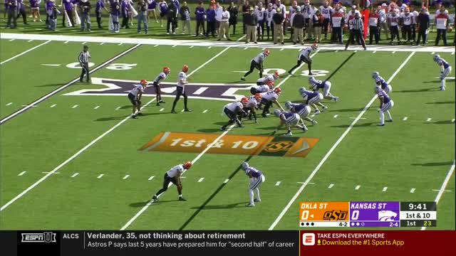 Watch and share Oklahoma State GIFs and Ncaa Football GIFs by Pistols Firing on Gfycat