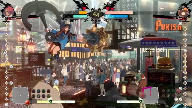 Watch and share Guilty Gear GIFs by CyborgNumberBlue on Gfycat