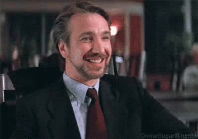 Watch and share Hans Gruber Enough Jokes GIFs on Gfycat