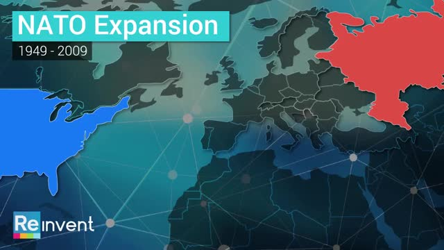 Watch and share NATO Expansion 1949-2009 GIFs by reinvent on Gfycat