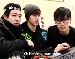 Watch and share Choi Youngjae GIFs and Im Jaebum GIFs on Gfycat