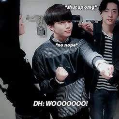 Watch and share I'm Yongguk GIFs and Youngjae GIFs on Gfycat