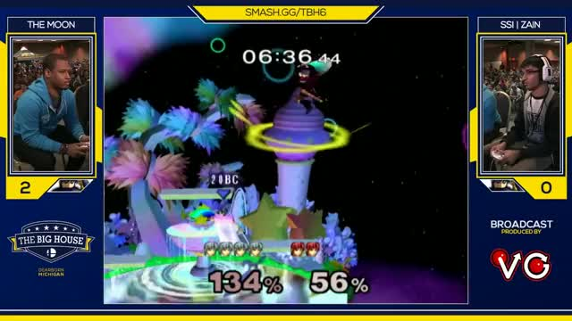 TBH6 SSBM - SSI | Zain (Marth) Vs. The Moon (Marth) - Smash Melee Top 64