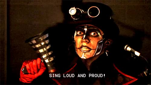 Watch and share Sing Loud And Proud, Steam Powered Giraffe, Steampunk, Brass Goggles GIFs on Gfycat