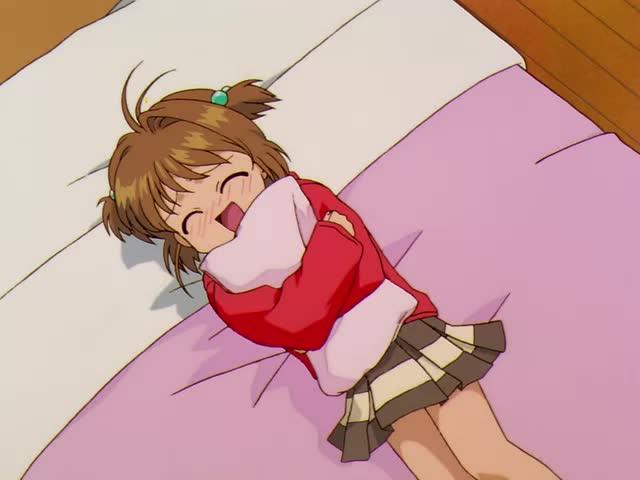 Cardcaptor Sakura, Sakura Kinomoto, anime, perfectloop, squee, Cardcaptor Sakura, Episode 38 - Sakura Loves Yukito GIFs