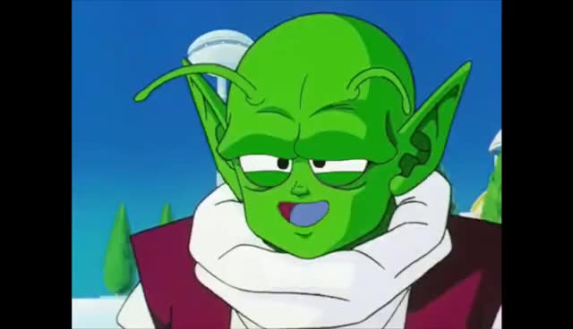 Watch and share TFS - Dende Goes Insane And Makes Mr. Popo Smile! GIFs on Gfycat