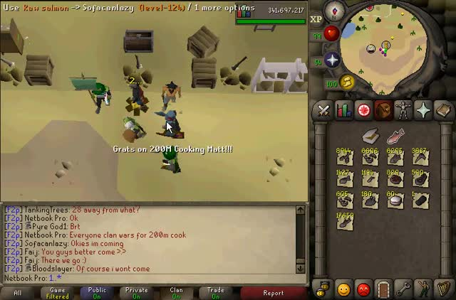 Watch 200m cook xp in F2P GIF on Gfycat. Discover more 2007scape GIFs on Gfycat