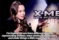 Watch and share Ellen Page GIFs and X Men GIFs on Gfycat