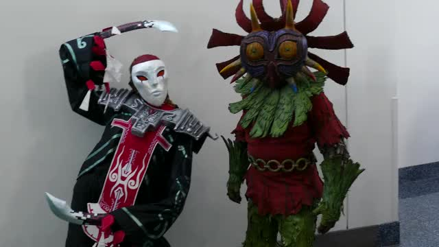 Watch and share Anime Expo - Majora's Mask GIFs by Ragachak on Gfycat