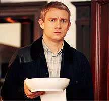 Watch and share Martin Freeman GIFs and He He He GIFs on Gfycat