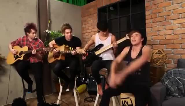 Watch this trending GIF on Gfycat. Discover more *5sos GIFs on Gfycat