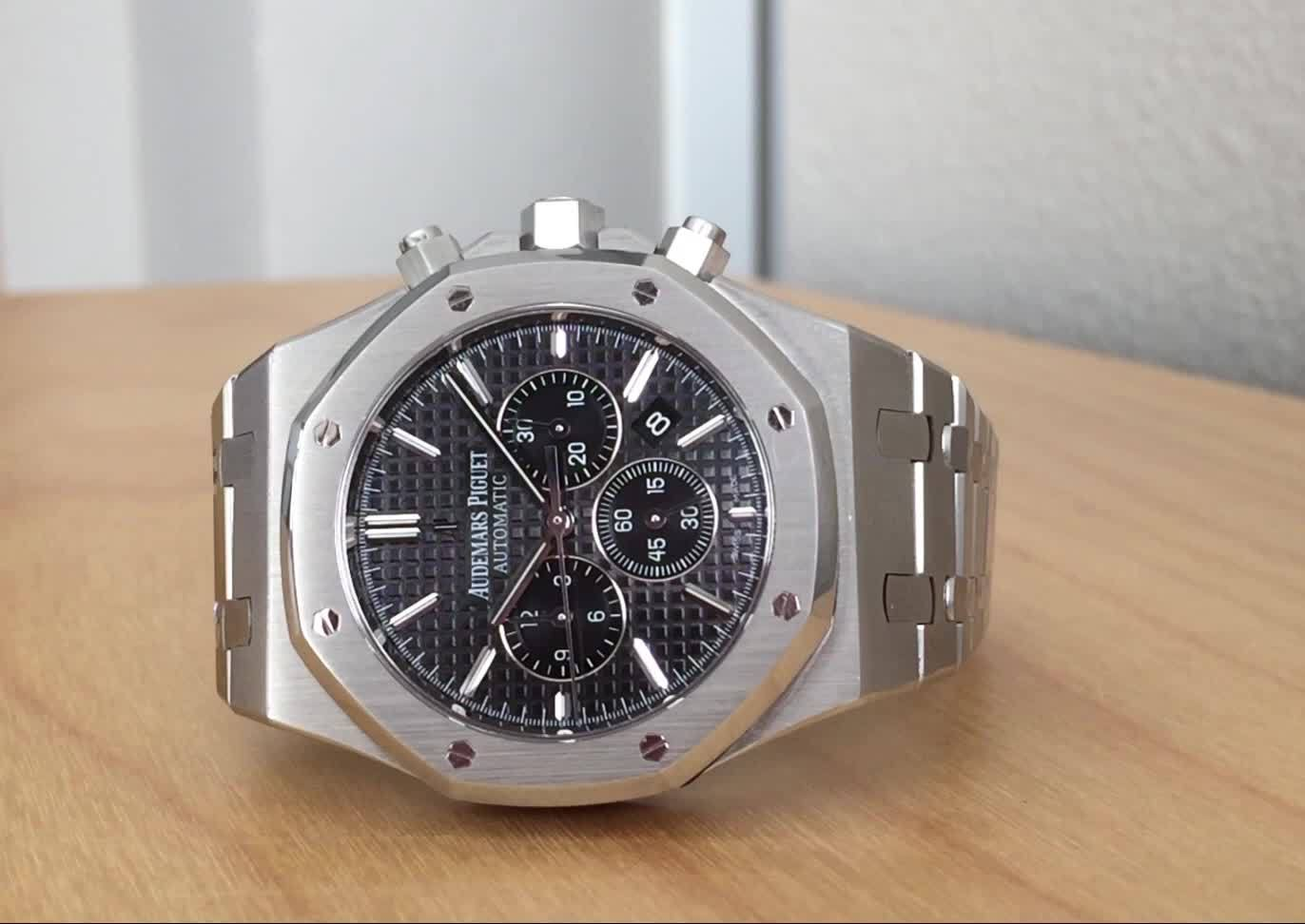 watch, Royal Oak Chronograph GIFs