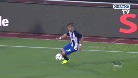 Watch and share Vedad Ibisevic. Hertha Berlin - Brondby. 2016 GIFs by fatalali on Gfycat