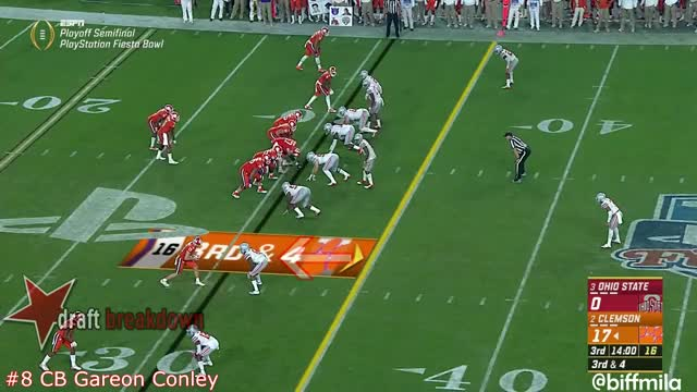 Watch and share Gareon Conley (Ohio State) Vs. Clemson (2016) GIFs by sio-kedelic on Gfycat