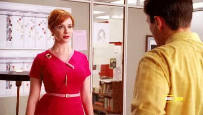 Watch and share Christina Hendricks GIFs and Excuse Me GIFs on Gfycat