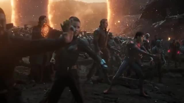 Watch and share Avengers Assemble - Portals Scene Avengers Endgame (2019) Movie Clip 4K GIFs on Gfycat