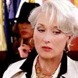 Watch and share Miranda Priestly GIFs and Meryl Streep GIFs on Gfycat