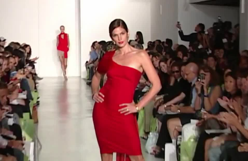 90's, cindy, cindy crawford, crawford, dress, fashion, icon, red, supermodel, Cindy Crawford _ Supermodel GIFs
