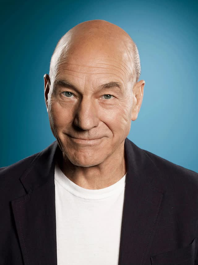 Watch and share Timelapse Of Patrick Stewart Aging GIFs on Gfycat