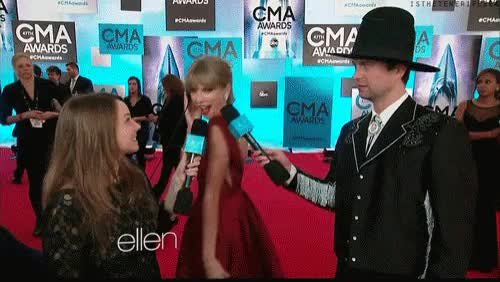 Watch this red carpet GIF on Gfycat. Discover more being cute, candy swift, cma awards, cmas, gif, i can't even handle you, my gif, red carpet, taylor swift, theycallmetsweezygifs, tswift GIFs on Gfycat