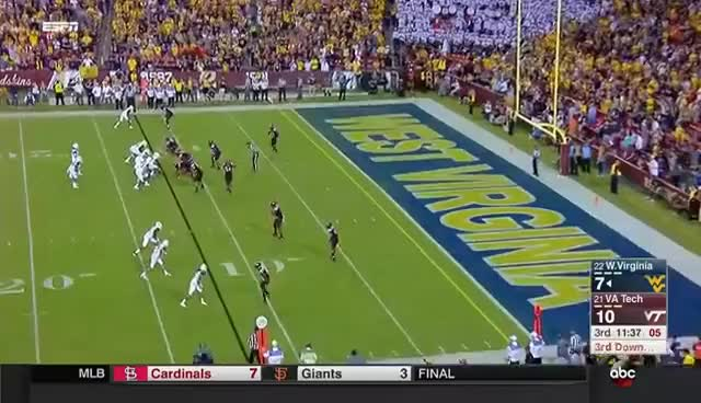 Watch and share 2017 Virginia Tech - West Virginia GIFs on Gfycat