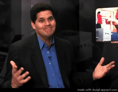 Watch and share The Nintendo Wii U Is Better Value For Money Than Xbox One Or PS4, Says Reggie GIFs on Gfycat