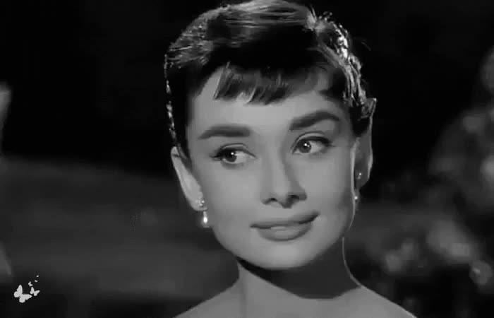 1950s, 50s, andrea_a_elisabeth, audrey hepburn, audreygifs, beauty, black and white, celebs, classic old movies, classics, gifs, glamorous, glamour, hollywood movies, legends, movie stars, retro, sabrina, vintage, vintage beauty, Audrey Hepburn | Sabrina (1954) | Gif by Andrea A Elisabeth ♛ GIFs