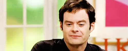 Watch and share Bill Hader GIFs and Mine GIFs on Gfycat
