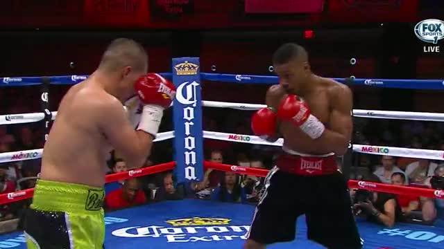 Watch A young Errol Spence lands a clean counter 1-2 on journeyman Noe Bolanos GIF by Tom_Cody (@tomcody) on Gfycat. Discover more Boxing, Errol Spence, Errol Spence Jr. GIFs on Gfycat