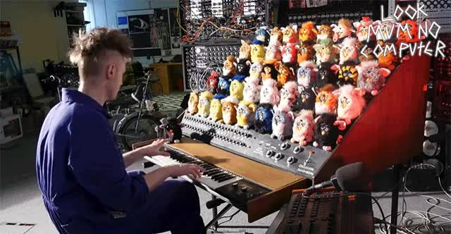 Watch THE FURBY ORGAN, A MUSICAL INSTRUMENT MADE FROM FURBIES GIF by Ievgen Marchuk (@ievgenmarchuk) on Gfycat. Discover more furby, music, orrgan GIFs on Gfycat