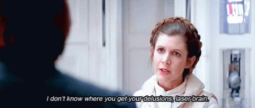 Watch and share Carrie Fisher GIFs on Gfycat