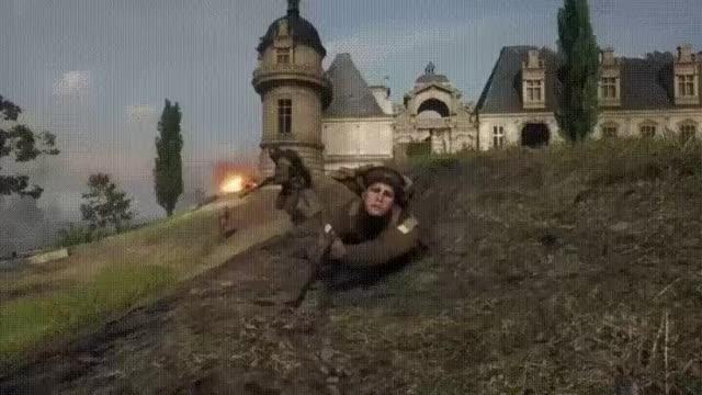 Watch and share Гифки-Battlefield-1-Battlefield-Игры-3475453 GIFs by giho13 on Gfycat