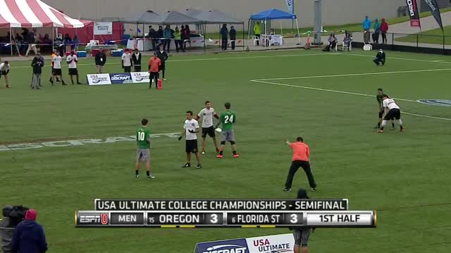 Watch and share Florida State V Oregon (2015 College Championships - Men's Semifinal) GIFs on Gfycat